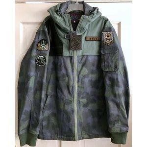 "Hooded Camo ""Sniper"" Jacket"
